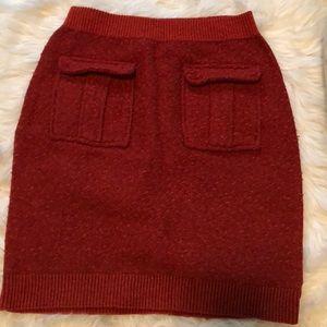 Moth sweater skirt-Sm